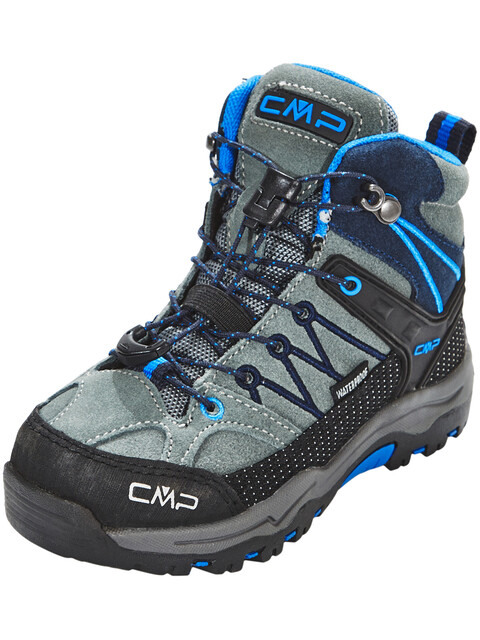 CMP Campagnolo Kids Rigel Mid WP Trekking Shoes Grey-Zaffiro